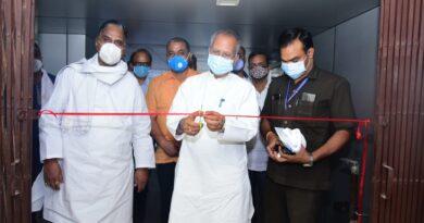 गृह मंत्री ने लाइवलीहुड कॉलेज भिलाई में 150 बेड के कोविड आइसोलेशन सेंटर का किया शुभारंभ